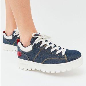 Skechers Shoes | Denim Sneaker Nib